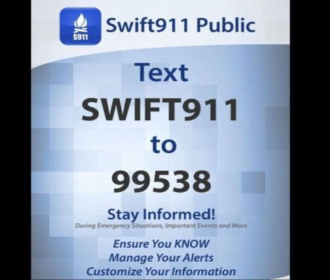 Swift911 Sign up